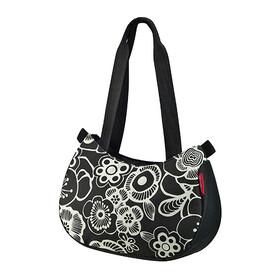 KlickFix Stylebag - Sac porte-bagages - blanc/noir